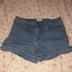 High waisted forever 21 shorts!